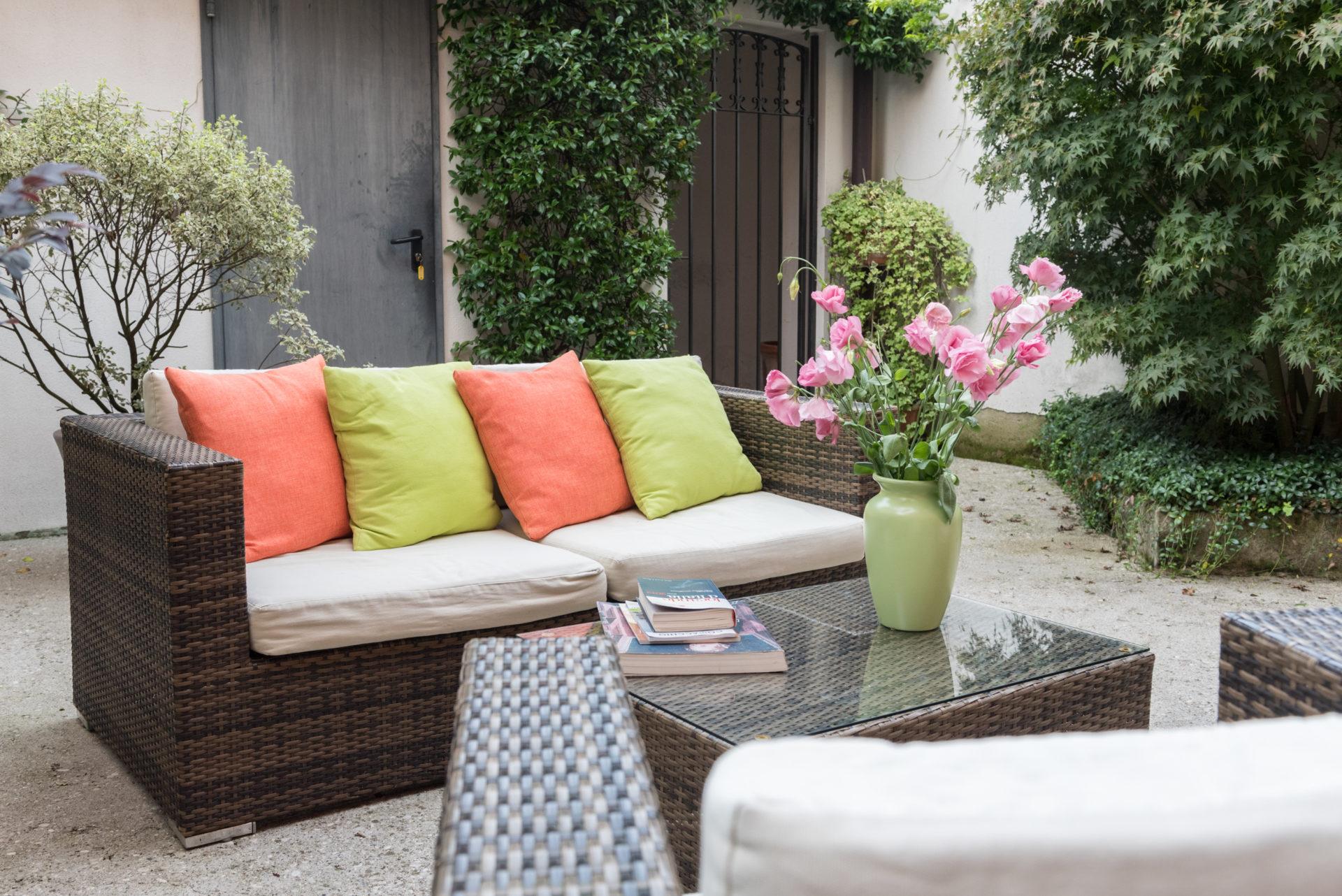 giardino corte interna outdoor relax patio